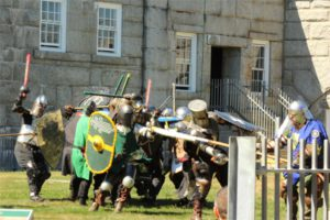 Baronial Muster at Fort Knox - Public Demo June 2018 @ Fort Knox State Park   Verona Island   Maine   United States