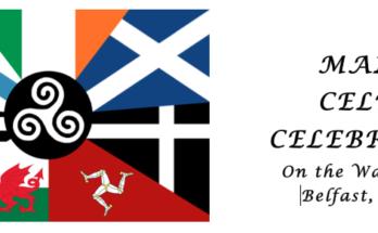 Maine Celtic Celebration flag logo