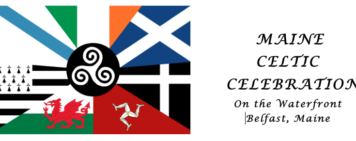 Maine Celtic Celebration flag logo