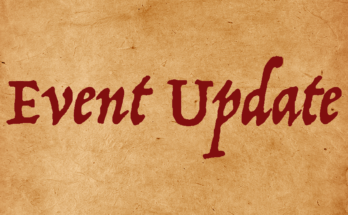 EVENT UPDATE imgage alert